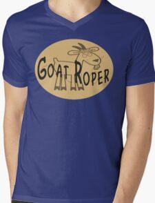 Goat Roper Mens V-Neck T-Shirt