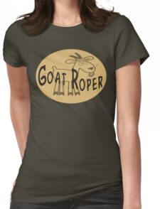 Goat Roper Womens Fitted T-Shirt