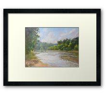 Southern River Framed Print