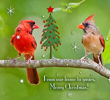 From our house to yours, Merry Christmas! by Bonnie T.  Barry
