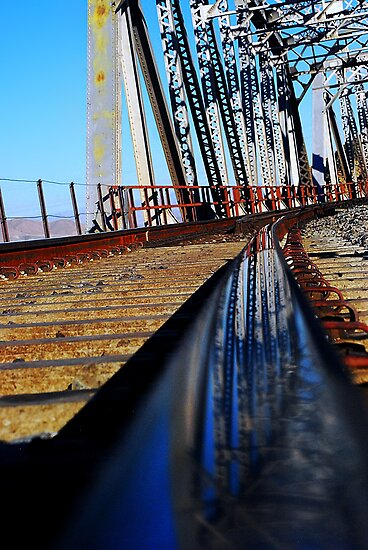 Mojave River Railroad Bridge by HeavenOnEarth