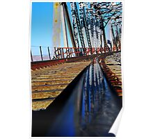 Mojave River Railroad Bridge Poster