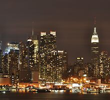 New York at Night by Philip Amoroso