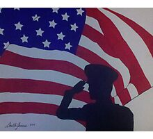 The Salute Photographic Print