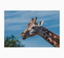 Rothschild Giraffe head open mouth Kids Clothes