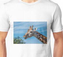 Rothschild Giraffe head open mouth Unisex T-Shirt