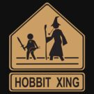 Caution: HOBBIT XING (Lord of the Rings mashup) by rydrew