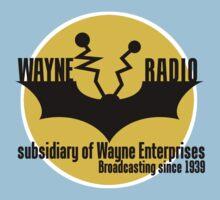 Batman - Wayne Radio by Dizzybow