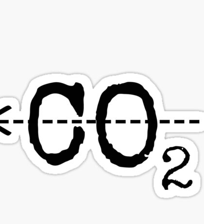 Cut CO2 Sticker
