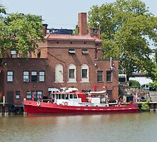 Fire Boat by StonePhotos