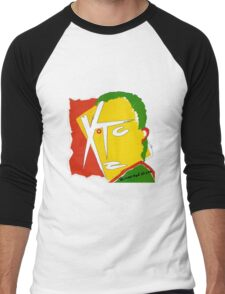 XTC Drums and Wires Men's Baseball ¾ T-Shirt