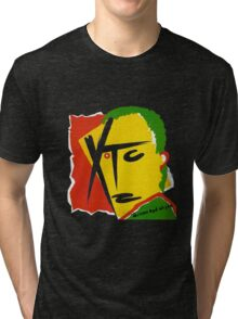 XTC Drums and Wires Tri-blend T-Shirt