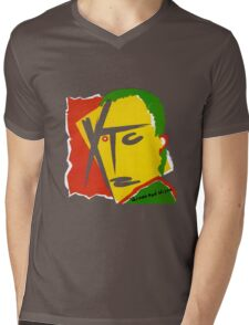 XTC Drums and Wires Mens V-Neck T-Shirt