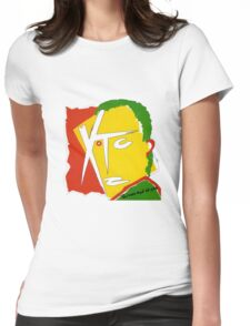XTC Drums and Wires Womens Fitted T-Shirt