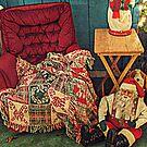 Santa Is Taking A Cookie Break by Jane Neill-Hancock
