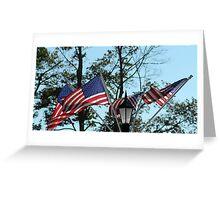 American Flag - Old Glory Greeting Card