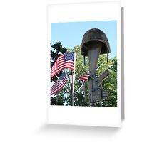 The Soldier's Cross - Battlefield Cross Greeting Card