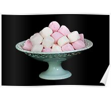 Mouthwatering Marshmallows Poster