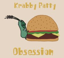 Krabby Patty Obesession by iedasb