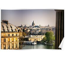 View of Paris from the Louvre Poster
