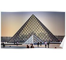 Glass Pyramid of the Louvre Poster