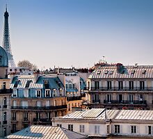 Paris Rooftops by Forrest Harrison Gerke