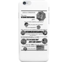Vitameatavegamin iPhone Case/Skin