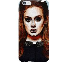 Adele Painting Art - #adele  iPhone Case/Skin