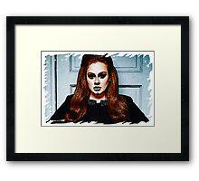Adele Painting Art - #adele  Framed Print
