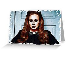 Adele Painting Art - #adele  Greeting Card