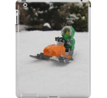 LEGO Mini Eskimo on Snowmobile iPad Case/Skin