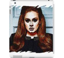 Adele Painting Art - #adele  iPad Case/Skin