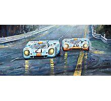Porsche 917 K GULF Spa Francorchamps 1970 Photographic Print