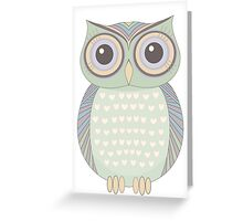 One Cool Owl Greeting Card