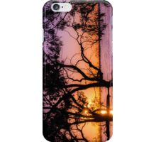 Menindee Sunset 2 iPhone Case/Skin