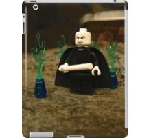 LEGO Voldemort Among Green Flames iPad Case/Skin