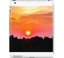 Red Sunset iPad Case/Skin