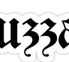Huzzah! Sticker