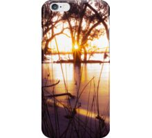 Menindee Sunset 3 iPhone Case/Skin