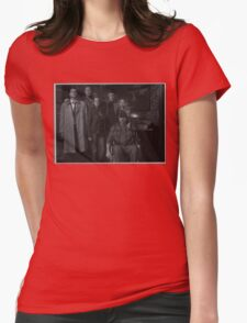 Sam, Bobby, Dean, Cas, Ellen, and Jo picture Womens Fitted T-Shirt