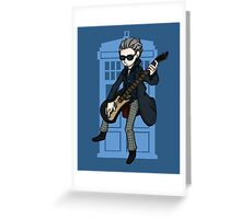 Doctor Who - Guitar Hero Greeting Card