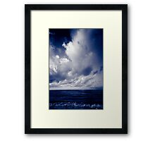 summer ver.blueblack Framed Print