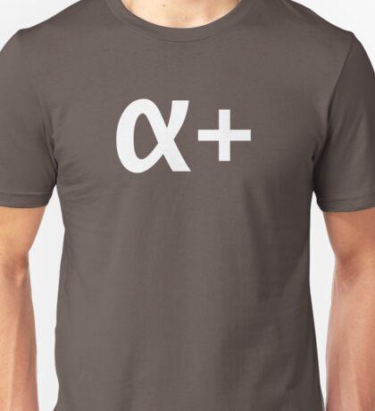 Alpha Plus Unisex T-Shirt