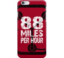 88 MPH iPhone Case/Skin