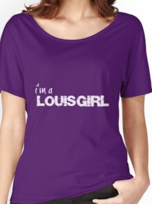 Louis Girl Women's Relaxed Fit T-Shirt