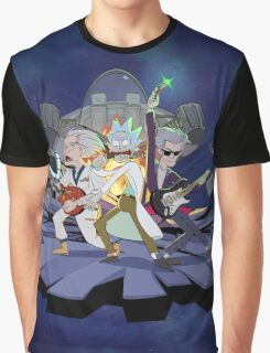 Rick and the Time Lords Graphic T-Shirt