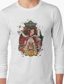 Totoro Ghibli Long Sleeve T-Shirt