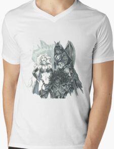 Chaos Trinity Mens V-Neck T-Shirt