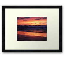 Thanksgiving Sunset 3 Framed Print