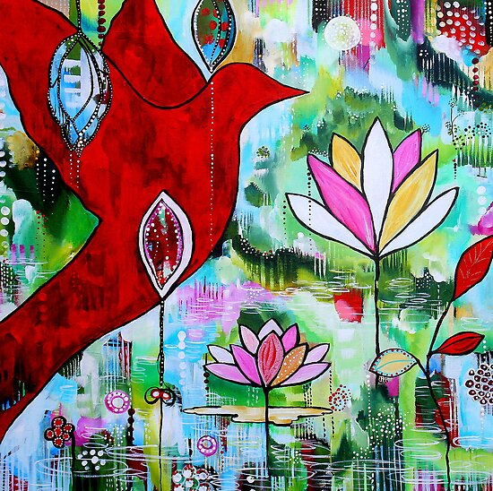 Flight of Colour  by Rachel Ireland-Meyers